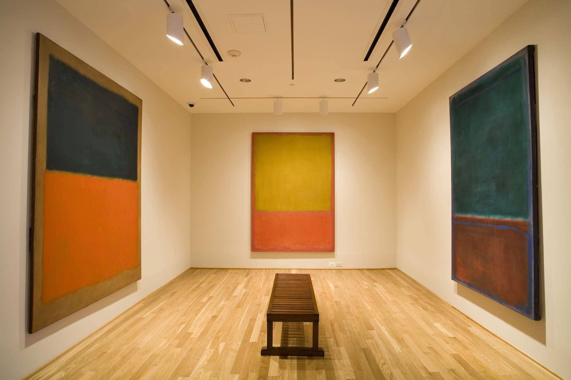Photo by Robert Lautman. The Rothko Room at The Phillips Collection in Washington, DC.